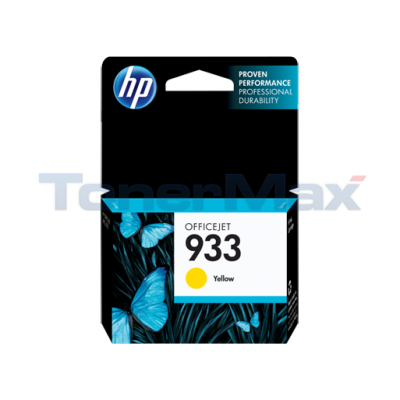 HP 933 INK YELLOW